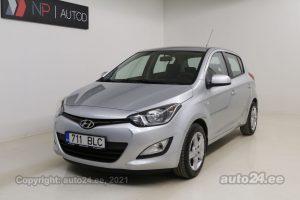 Osta kasutatud Hyundai i20 Classic 1.2  63 kW 2014 värv hall Tallinnas