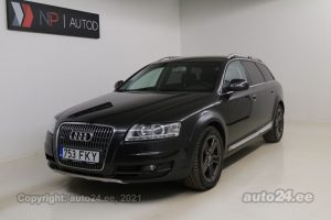 By used Audi A6 allroad Quattro Executive 3.0  176 kW 2009 color gray for Sale in Tallinn